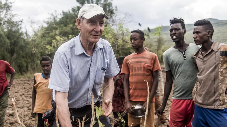 Tony Rinaudo in Ethiopia