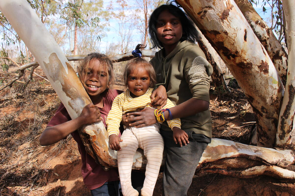 Partner with First Nations people in Australia to create positive change for communities, children and families.