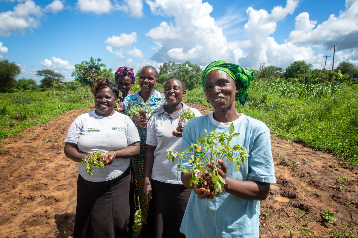Equip communities to adapt to the effects of climate change. regreen farmland and prepare the future challenges