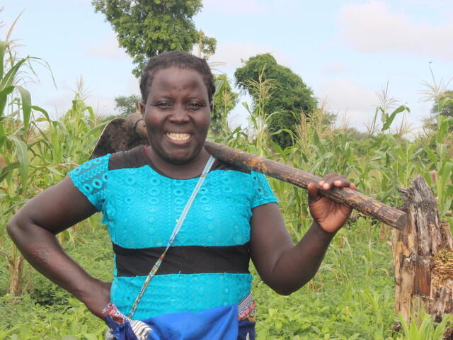 Providing sowing tools to help Chanita produce food