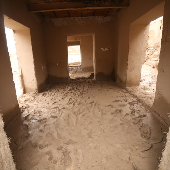 Mud and silt makes homes unlivable in Badghis