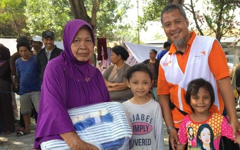 Central Sulawesi Earthquake Relief Shelter Kits
