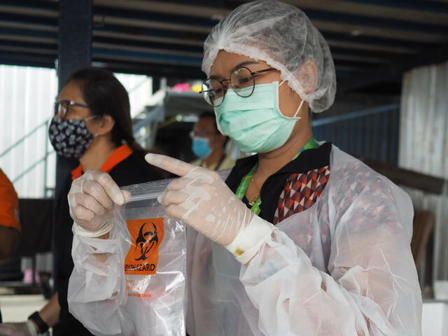 PPE distributed to health facilities, health workers and communities
