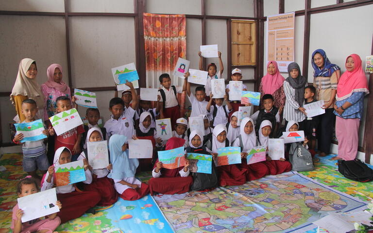 Central Sulawesi Earthquake Relief Child Protection