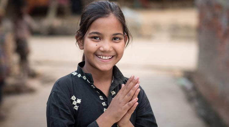 Preeti is now in school, with the full support of her parents