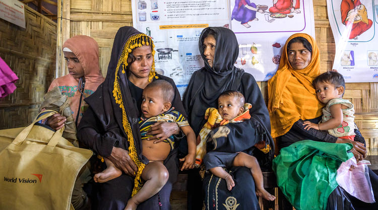 Rohingya refugee support World Vision