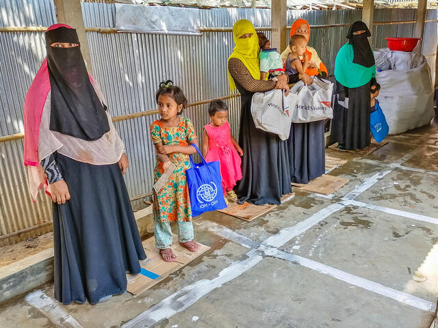 Social distancing is difficult in places like Cox's Bazar in Bangladesh