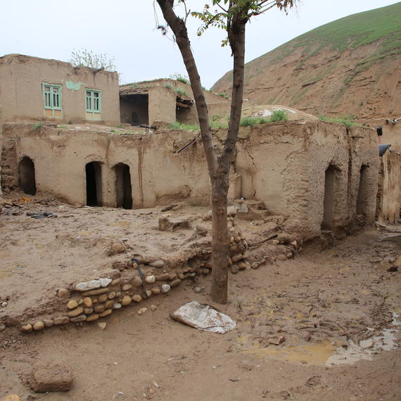 Flood damage in Badghis Province
